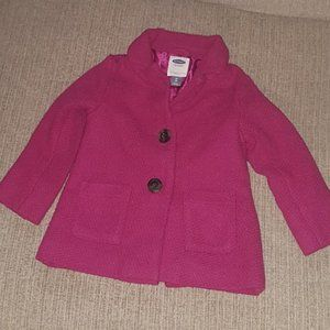 Old Navy Girls Peacoat - 3T